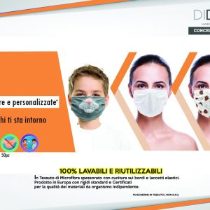 mascherine peronalizzate